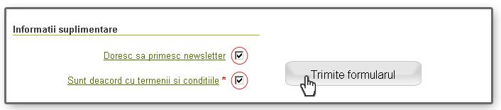 formular de inregistrare (acceptarea conditiilor)
